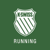 K-Swiss Running Logo for Mile 9